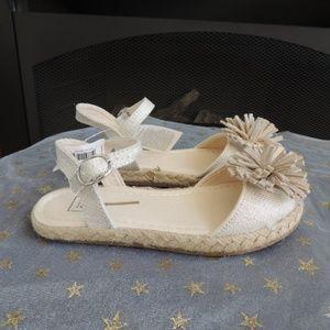 NWT Toddler Girl Shoe Sz 10 GAP Shimmering Sandals